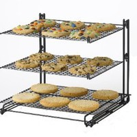 Nifty Non-Stick 3-Tier Cooling Rack: Kitchen & Dining