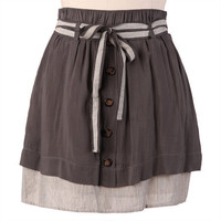 sound of music gray skirt - $29.99 : ShopRuche.com, Vintage Inspired Clothing, Affordable Clothes, Eco friendly Fashion