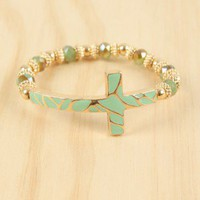 Cross Over Bracelet