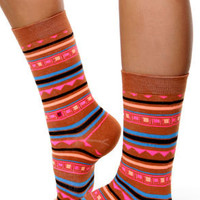 Stance Smeaton Neon Striped Socks