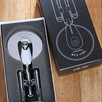 ThinkGeek :: Star Trek Enterprise Pizza Cutter