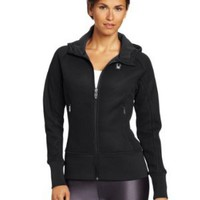 Amazon.com: Spyder Women's Ardent Full Zip Hoody Mid Weight Core Sweater: Sports & Outdoors