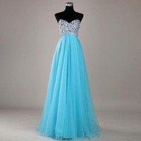 Sweetheart elegant beading formal dress from Girlsfriend