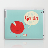 Have a Gouda Day Laptop &amp; iPad Skin | Print Shop