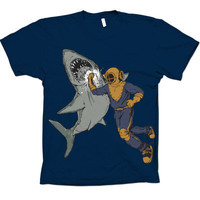 Shark Punch Navy