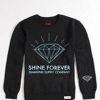 Diamond Supply Co Shine Forever Logo Crew Fleece at PacSun.com