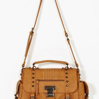 Axel Studded Bag - Camel