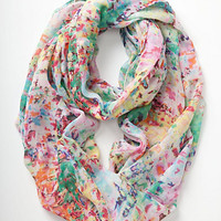 Blurred Watercolors Infinity Scarf