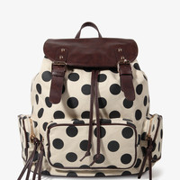 Polka Dot Backpack | FOREVER21 - 1027705409