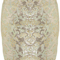 Floral Jacquard Mini Skirt - Skirts - Going Out - New In - Topshop USA