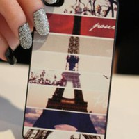 New Chic Paris Eiffel Tower iPhone 5 Case
