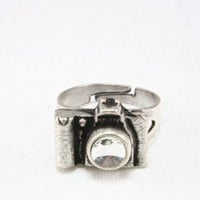 Silver Camera Ring