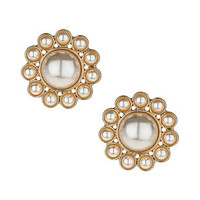 Flower pearl stud earrings - The Fashion Pop Up Event  - Sale & Offers