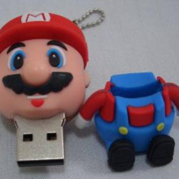 8GB Cartoon Mario USB Memory Stick