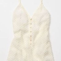 Margrit Crisscrossed Romper - Anthropologie.com