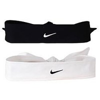 Amazon.com: Nike Dri Fit Head Tie (Black, Osfm): Sports &amp; Outdoors