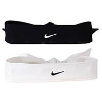 Amazon.com: Nike Dri Fit Head Tie (Black, Osfm): Sports & Outdoors