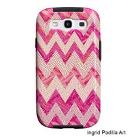 Samsung Galaxy S3 Case Geometric tough Case - Funky Abstract Art phone cases