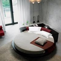 Plato Round Bed