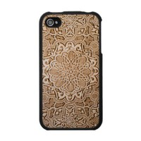 India Wood Cutout - IPhone 4 Case from Zazzle.com