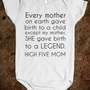 My mom gave birth to a legend - Get in my Closet