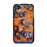 Orange Barnacle Rust - IPhone 4 Case from Zazzle.com