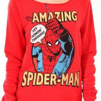 The Amazing Spider-Man Pullover | FOREVER 21 - 2017307293