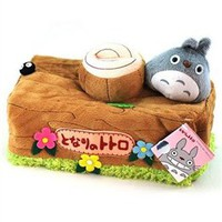 Wholesale Bathair Totoro Stump Case Tissue Box Cover - DinoDirect.com