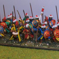 28mm Ottoman Spearmen - Evil Bob's Miniature Painting and Terrain