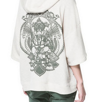ORIENTAL PRINT CAPE CARDIGAN - Sweatshirts - TRF - ZARA United States