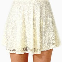 Laced Skater Skirt