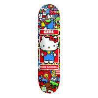 Girl x Hello Kitty Hella Kitty Carroll 8.0 Skateboard Deck