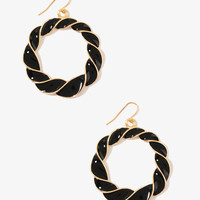 Lacquered Twisted Hoops | FOREVER21 - 1021839436
