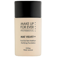 MAKE UP FOR EVER Mat Velvet + Matifying Foundation: Shop Foundation | Sephora