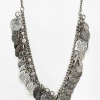 UrbanOutfitters.com > Casablanca Coin Necklace