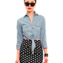 GYPSY WARRIOR - Polka Dot Mini Skirt - Black