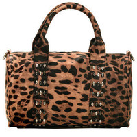 GYPSY WARRIOR - Leopard Skull Bowling Bag