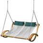 The Pawleys Island Hammock Swing - Hammacher Schlemmer