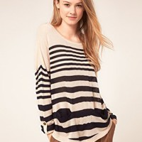 Warehouse | Warehouse Stripe Jumper at ASOS