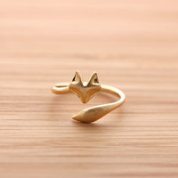 girlsluv.it - FOX&amp;#39;s TAIL ring, 2 colors