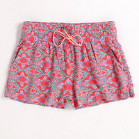 Kirra Tie Front Challis Shorts at PacSun.com