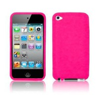 Amazon.com: Hot Pink Soft Silicone Skin Case for Apple iPod Touch 4 (4th Generation): Everything Else