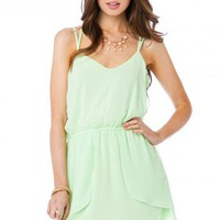 Back in Love Dress in Lime - ShopSosie.com