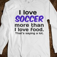 Soccer&gt;Food