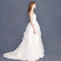 Collection waterfall gown - gowns - Wedding's Bride - J.Crew
