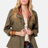 Ladakh Combat Olive Military Jacket