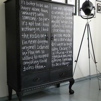 Decor for the house / chalk board paint