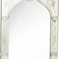 One Kings Lane - Mirror Fair - Rectangular Venetian-Style Mirror