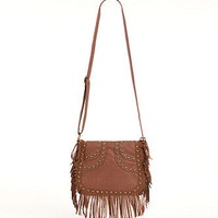 Kirra Studded Fringe Crossbody Bag at PacSun.com