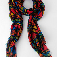 Saturation At Its Finest Scarf in Red :: tobi